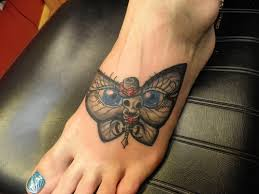 blue eyed butterfly on for tattooshunt com