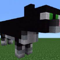 Minecraft How To Make A Bed Origami Minecraft Tutorial How To Make A Cat Statue Making A Cat
