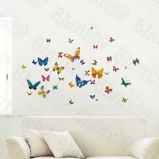 Home Decor Dropship Wholesale Bulk Dropshipper Butterfly Crowd Wall Decals