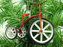bicycle ornament new tricycle bicycle cycle tree
