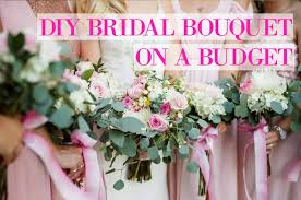 how to make bridal bouquets barbelles curls diy bridal bouquet on a budget