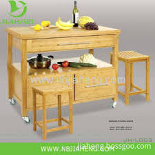 bamboo kitchen island china horizontal pressed solid bamboo kitchen island cart