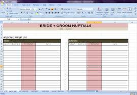 Wedding Planner Course Wedding Planner Excel