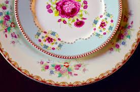 Unique Rentals Spotlight Unique Settings Mismatched China Rentals The Pink Bride