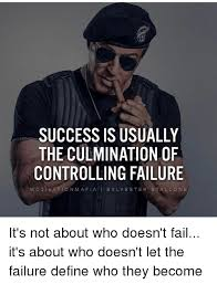 Controlling Wife Meme - success is usually the culmination of controlling failure