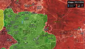 Syria Live Map by Syrian Army Captures All Important Hill In Eastern Aleppo Map Update