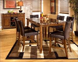 Kitchen  Bar Height Table Pub Table And Chairs Dining Table Set - Kitchen bar table set