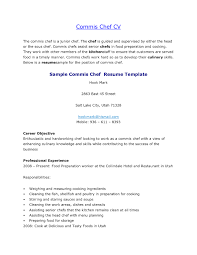 Community Resume Prep Cook Resume Sample Executive Chef Resume Chef Resume