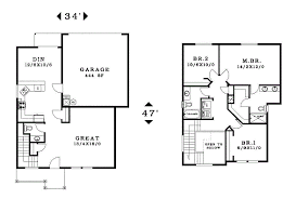 garage house floor plans 2 story house floor plans with garage photogiraffe me