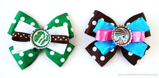how to make girl bows girl scout bottle cap hair bows artsy fartsy