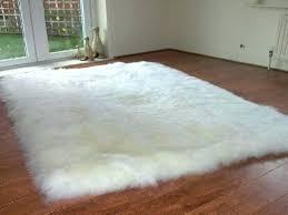 Modern White Rug White Faux Fur Rug White Fur Rug Fluffy White Rug Area Rugs