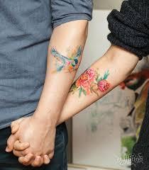 Flower And Bird Tattoo - 25 best watercolor bird tattoos ideas on pinterest black