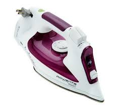 Rowenta Effective Comfort Rowenta 1500w Steam Iron With Cord Reel And Microsteam Soleplate