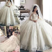 wedding dresses luxury princess gown lace wedding dresses with cathedral