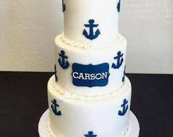 nautical cake sailboat fondant cake set nautical party nautical baby