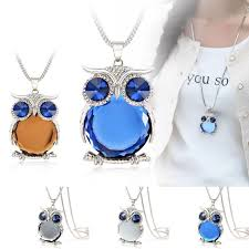 crystal owl necklace images Crystal owl necklace hashtack24 jpg