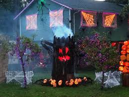 decorated halloween trees 24 indoor u0026 outdoor tree halloween decorations ideas