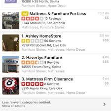 ashley homestore 42 photos u0026 53 reviews furniture stores