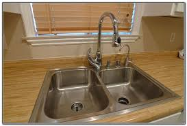 kitchen sink water filter faucet sink and faucets home