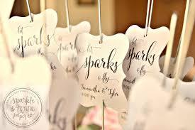 labels for wedding favors sparkler tags sparkler labels sparkler sleeves sparkler exit