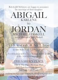 Lds Wedding Invitations What 5 Teach Me Digital Vellum Wedding Invitation