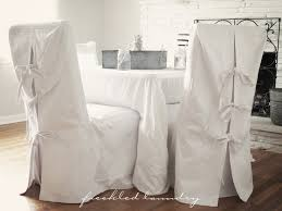 white slipcover dining chair 18 best dining chair slipcovers images on dining chair