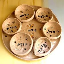 pesach plate ceramic seder plate passover plate seder plate white seder