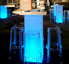 table rentals dallas led pedestal bar table dfw lounge rentals luxury event rentals