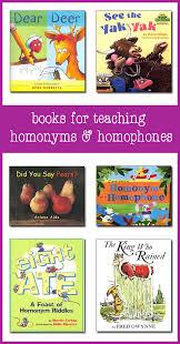 homonyms and homophones in the best children u0027s books
