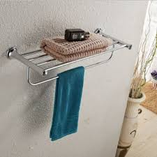 wonderful design ideas using rectangular blue table clothes and chic design ideas using rectangular silver metal towel bars and white wall