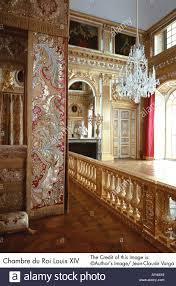 chambre louis 14 château de versailles chambre du roi louis xiv banque d images