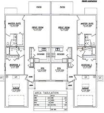 Duplex Floor Plan Duplex Plans Siex