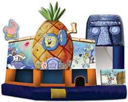 bounce house rentals bounce house rental sponge bob 5n1 a s party rental