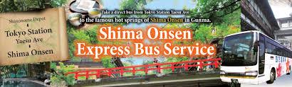 Tokyo Metro Route Map by Express Bus Tokyo Station Shima Onsen Kan Etsu Transportation