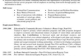 Volunteer Experience Resume Example by Volunteer Experience O Include Volunteer Work Experience Resume