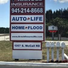 Car Insurance Port Charlotte Fl Arnold Insurance Home U0026 Rental Insurance 1357 S Mccall Rd