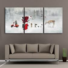Home Decoration Painting by Compare Prices On Santa Wall Art Online Shopping Buy Low Price