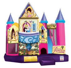bounce house rental miami princess castle bounce house rentals in miami and broward fl