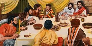 jesus last supper bible story