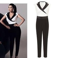 black and white jumpsuit black white jumpsuit kourtney