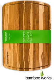 amazon com professional bamboo wood cutting board and cheese