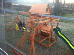 Backyard Adventures Price List Backyard Discovery Monticello Cedar Swing Set Walmart Com