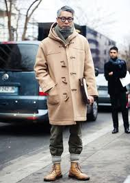 how to wear a duffle coat the idle man