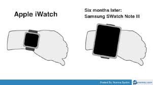 Meme Center Mobile App - hilarious apple watch memes are already here throwing shade at android