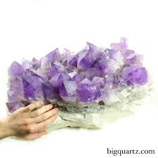 amethyst crystal cluster bolivia 56 135 pounds