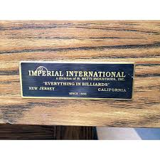 Imperial International Pool Table Imperial Player 8 U0027 Pool Table Kd Game Room Supply