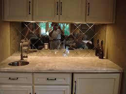 Mirrored Backsplash In Kitchen Agreeable Design Ideas Of Kitchen Mirror Backsplash Decorating