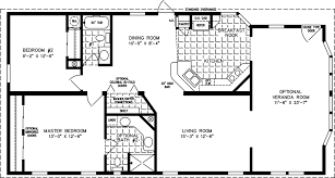 Small Cabins Under 1000 Sq Ft Manufactured Home Floor Plan The T N R Model Tnr 3403b 2 Bedrooms