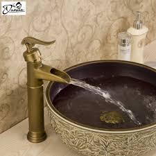 aliexpress com buy brass single hole antique faucet bronze
