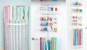 Organize Gift Wrap - how to organize everything in your life philadelphia magazine